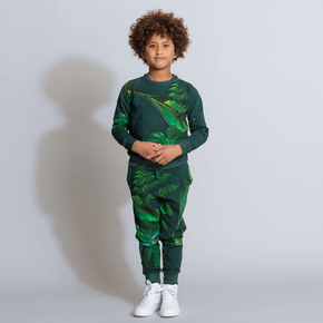 SWEATER KIDS GREEN FOREST